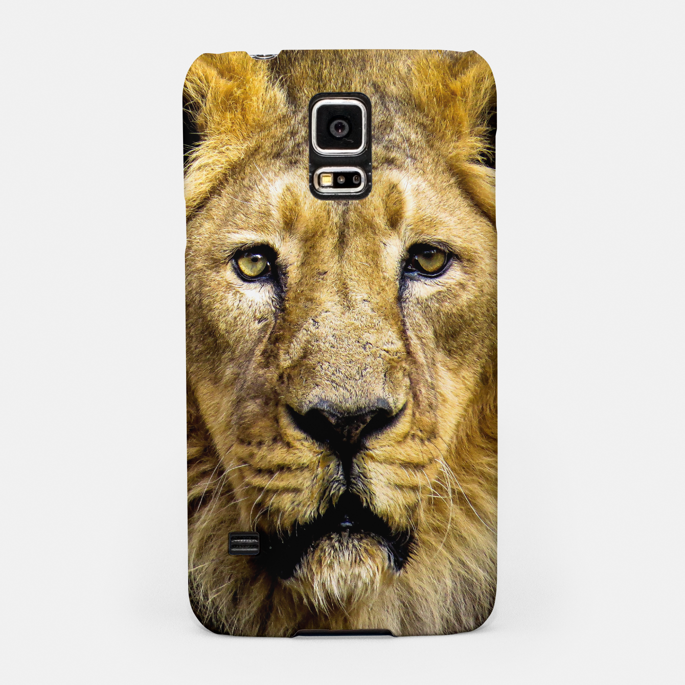Image of Face of Lion Samsung Case - Live Heroes