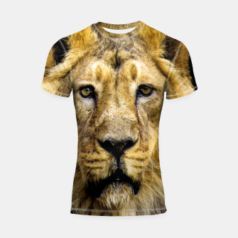 Face of Lion Shortsleeve rashguard thumbnail image