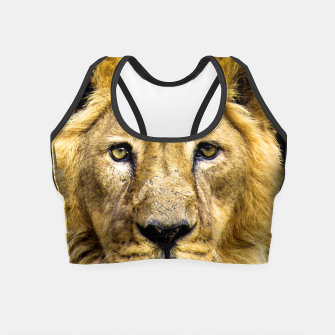 Thumbnail image of Face of Lion Crop Top, Live Heroes