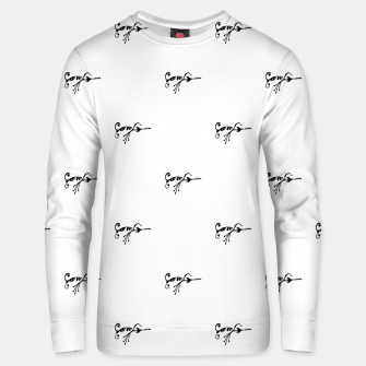 Thumbnail image of Tribal Style Black Symbol Drawing Unisex sweater, Live Heroes