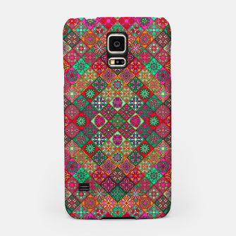 Thumbnail image of Traditional Floral Boho Moroccan Pattern Style Samsung Case, Live Heroes