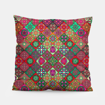 Thumbnail image of Traditional Floral Boho Moroccan Pattern Style Pillow, Live Heroes