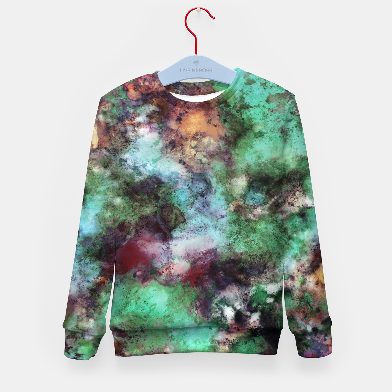 Image of Changeable Kid's sweater - Live Heroes