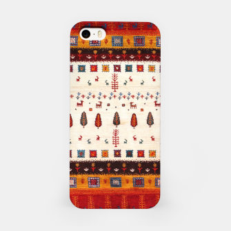 Miniatur Autumn Anthropologie Traditional Moroccan Style  iPhone Case, Live Heroes