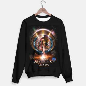 Thumbnail image of Empress Arzriani Art Nouveau Scifi Fractal Portrait Sweater regular, Live Heroes