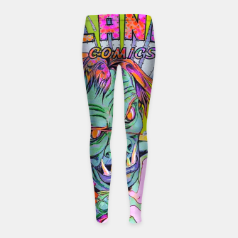 Miniatur Giant killer of Jupiter Girl's leggings, Live Heroes