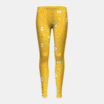 Thumbnail image of Golden 1-1524 Leggings para niña, Live Heroes
