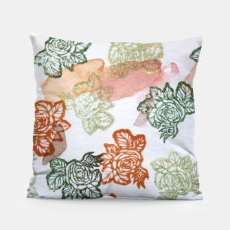 Thumbnail image of Retro Flora Pillow, Live Heroes