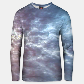 Miniature de image de Stormy Sky Abstract Print Unisex sweater, Live Heroes