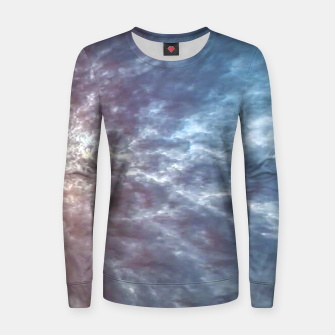 Thumbnail image of Stormy Sky Abstract Print Women sweater, Live Heroes