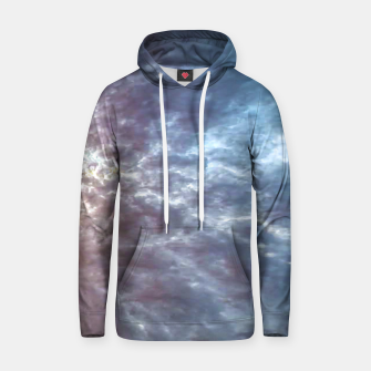 Thumbnail image of Stormy Sky Abstract Print Hoodie, Live Heroes