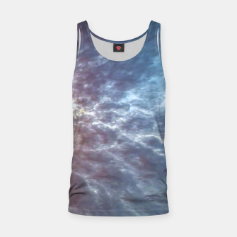 Miniature de image de Stormy Sky Abstract Print Tank Top, Live Heroes