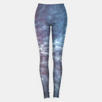 Imagen en miniatura de Stormy Sky Abstract Print Leggings, Live Heroes