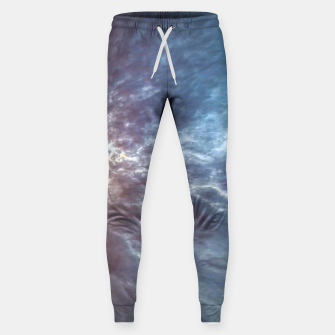 Thumbnail image of Stormy Sky Abstract Print Sweatpants, Live Heroes