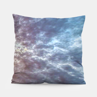 Thumbnail image of Stormy Sky Abstract Print Pillow, Live Heroes