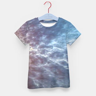 Miniature de image de Stormy Sky Abstract Print Kid's t-shirt, Live Heroes