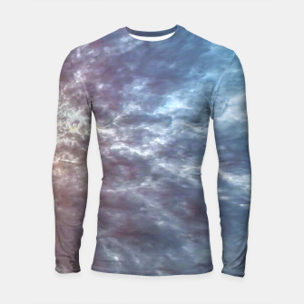 Thumbnail image of Stormy Sky Abstract Print Longsleeve rashguard , Live Heroes