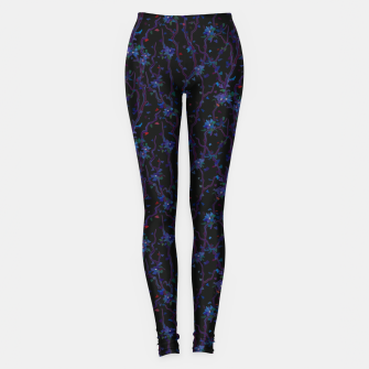 Imagen en miniatura de Blossoming veins of the dark neon world  Leggings, Live Heroes