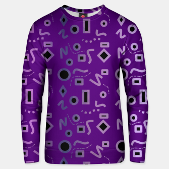 Miniaturka Mod Purple Shapes Unisex sweater, Live Heroes