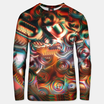 Thumbnail image of Trippy Hippie Psycedelic Rainbow Neon Colors Unisex sweater, Live Heroes