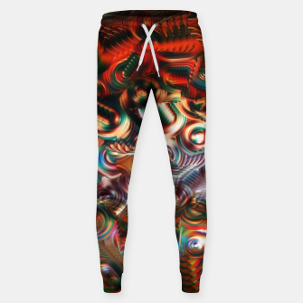 Thumbnail image of Trippy Hippie Psycedelic Rainbow Neon Colors Sweatpants, Live Heroes