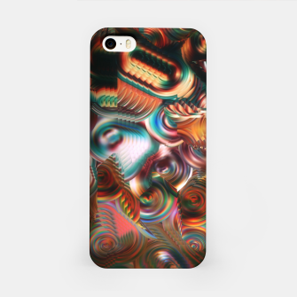 Thumbnail image of Trippy Hippie Psycedelic Rainbow Neon Colors iPhone Case, Live Heroes