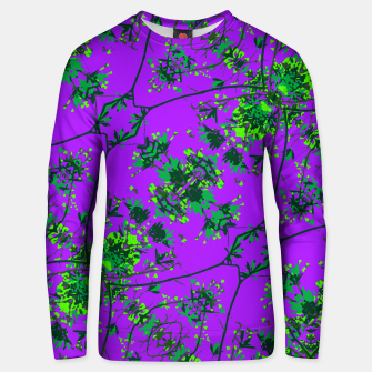 Thumbnail image of Modern Floral Collage Pattern Unisex sweater, Live Heroes