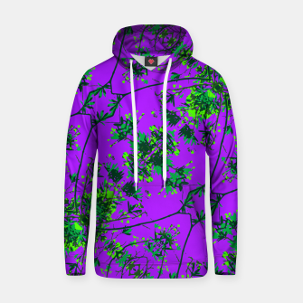 Thumbnail image of Modern Floral Collage Pattern Hoodie, Live Heroes