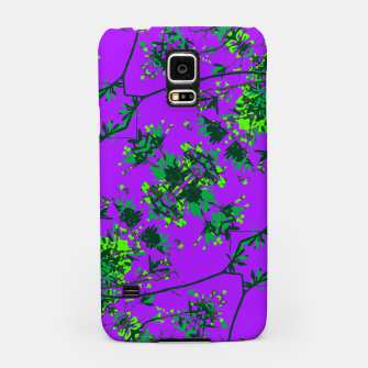 Thumbnail image of Modern Floral Collage Pattern Samsung Case, Live Heroes