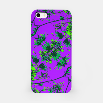 Thumbnail image of Modern Floral Collage Pattern iPhone Case, Live Heroes