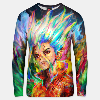 Thumbnail image of dr. stone Unisex sweater, Live Heroes