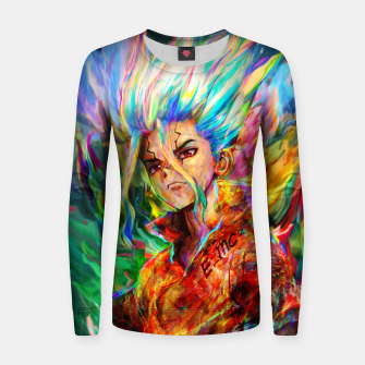 Thumbnail image of dr. stone Women sweater, Live Heroes
