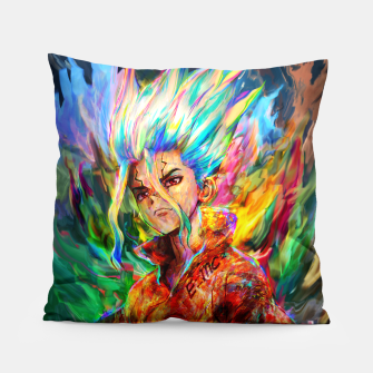 Thumbnail image of dr. stone Pillow, Live Heroes