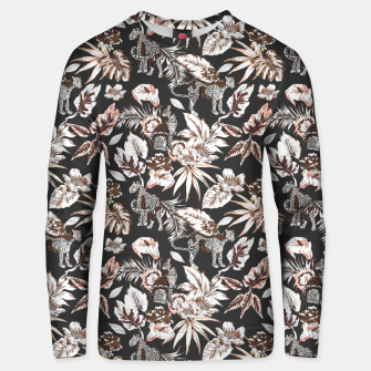 Thumbnail image of Leopards in the wild flora 41 Sudadera unisex, Live Heroes