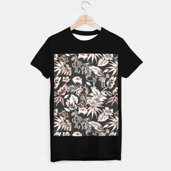 Thumbnail image of Leopards in the wild flora 41 Camiseta Regular, Live Heroes
