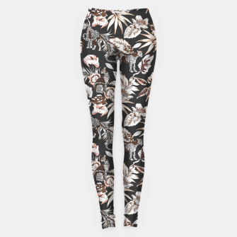Imagen en miniatura de Leopards in the wild flora 41 Leggings, Live Heroes