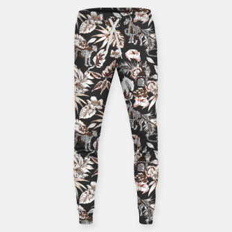 Thumbnail image of Leopards in the wild flora 41 Pantalones de chándal , Live Heroes