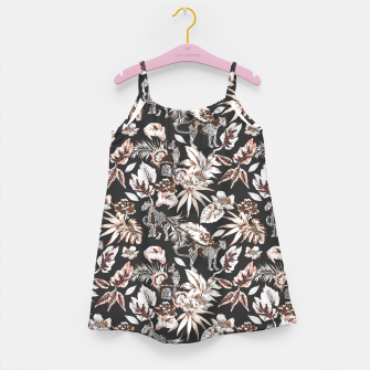 Thumbnail image of Leopards in the wild flora 41 Vestido para niñas, Live Heroes