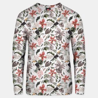 Miniaturka Toucans in the flowered jungle 6 Sudadera unisex, Live Heroes