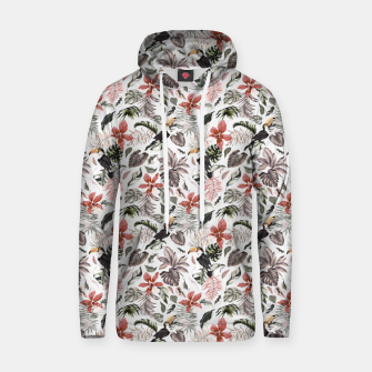 Thumbnail image of Toucans in the flowered jungle 6 Sudadera con capucha, Live Heroes