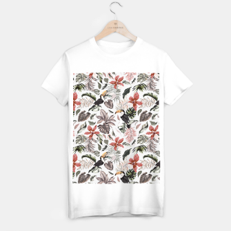 Thumbnail image of Toucans in the flowered jungle 6 Camiseta Regular, Live Heroes