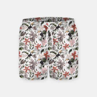 Thumbnail image of Toucans in the flowered jungle 6 Pantalones de baño, Live Heroes