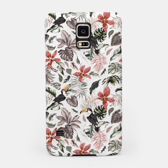 Thumbnail image of Toucans in the flowered jungle 6 Carcasa por Samsung, Live Heroes