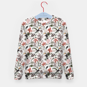 Thumbnail image of Toucans in the flowered jungle 6 Sudadera para niños, Live Heroes