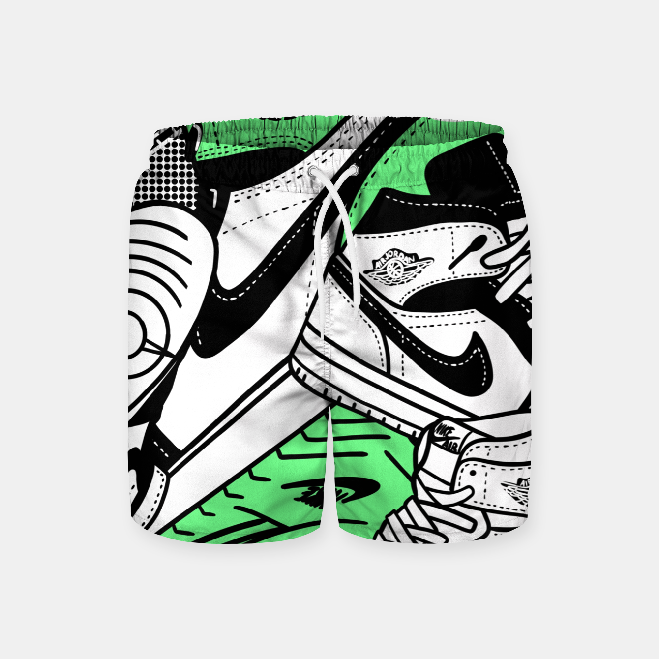 Image of Jumpman - Swim Shorts - Live Heroes