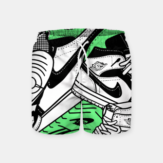 Thumbnail image of Jumpman - Swim Shorts, Live Heroes