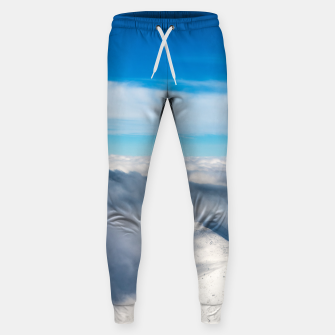 Miniature de image de Mountains emerging from clouds Sweatpants, Live Heroes