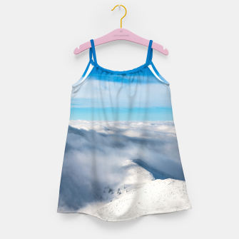 Miniature de image de Mountains emerging from clouds Girl's dress, Live Heroes