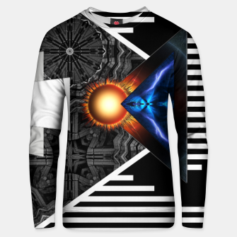 Miniaturka Wings Of Lightning Deco Mech Flare RLX3 Unisex sweater, Live Heroes