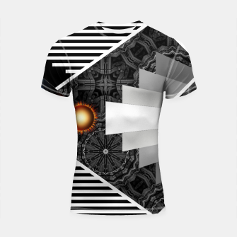 Thumbnail image of Wings Of Lightning Deco Mech Flare RL90 Shortsleeve rashguard, Live Heroes